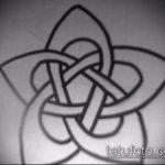 Эскиз тату звезды на ключице №424 - интересный вариант рисунка, который хорошо можно использовать для переработки и нанесения как тату звезды на ключицах и коленях