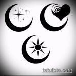 Эскиз тату звезды на ключице №43 - крутой вариант рисунка, который успешно можно использовать для преобразования и нанесения как тату звезды на ключицах у девушек