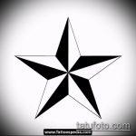 Эскиз тату звезды на ключице №172 - прикольный вариант рисунка, который успешно можно использовать для доработки и нанесения как тату звезды на ключицах у девушек