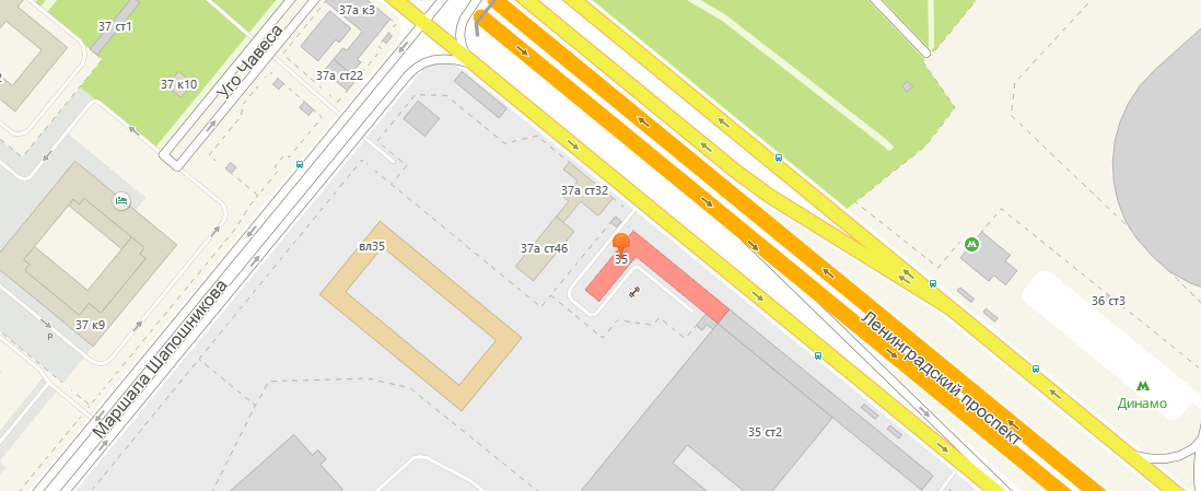 тату студия Ангел - Москва - расположение на карте