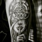 Tattoo Русак - фото примеров готовых работ - тату салон Москва 3