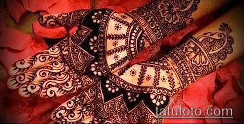 Фото Индийское мехенди - 20062017 - пример - 046 Indian mehendi_tatufoto.com
