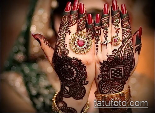 Фото Индийское мехенди - 20062017 - пример - 122 Indian mehendi_tatufoto.com
