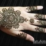 Фото Индийское мехенди - 20062017 - пример - 126 Indian mehendi_tatufoto.com