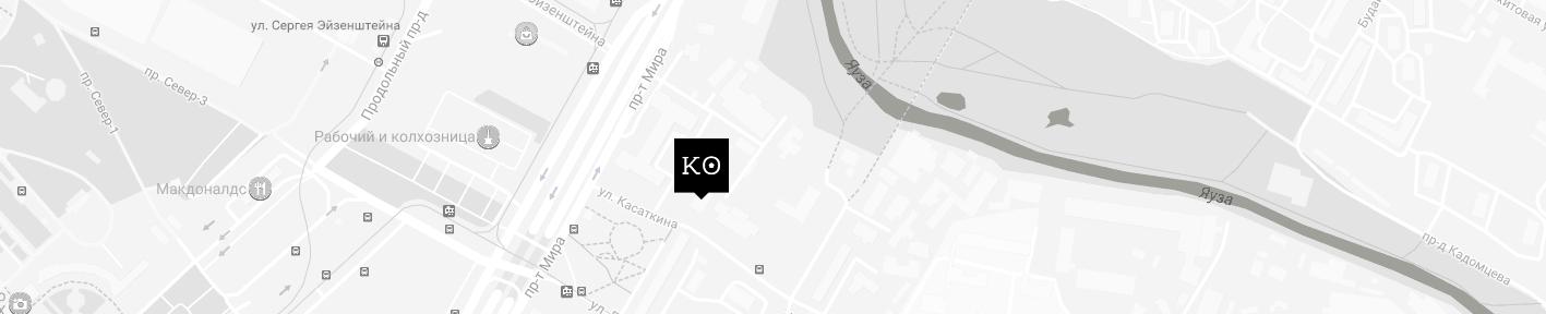 Студия татуировки КОНТРАБАНДА - МОСКВА - карта - схема проезда - как найти салон тату в Москве