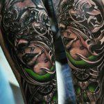 Студия татуировки КОНТРАБАНДА - МОСКВА - пример готовой татуировки - портфолио мастера салона 2