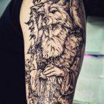 Студия татуировки КОНТРАБАНДА - МОСКВА - пример готовой татуировки - портфолио мастера салона 4