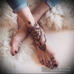 Фото Мехенди на щиколотке - 21072017 - пример - 005 Mehendi on ankles