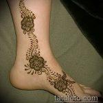 Фото Мехенди на щиколотке - 21072017 - пример - 023 Mehendi on ankles