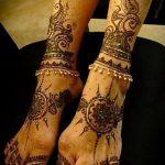Фото Мехенди на щиколотке - 21072017 - пример - 036 Mehendi on ankles