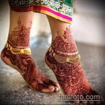 Фото Мехенди на щиколотке - 21072017 - пример - 043 Mehendi on ankles