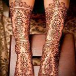 Фото Мехенди на щиколотке - 21072017 - пример - 057 Mehendi on ankles
