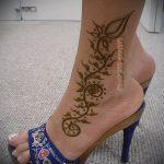 Фото Мехенди на щиколотке - 21072017 - пример - 069 Mehendi on ankles