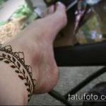 Фото Мехенди на щиколотке - 21072017 - пример - 072 Mehendi on ankles