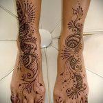 Фото Мехенди на щиколотке - 21072017 - пример - 073 Mehendi on ankles
