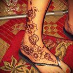 Фото Мехенди на щиколотке - 21072017 - пример - 076 Mehendi on ankles