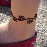 Фото Мехенди на щиколотке - 21072017 - пример - 101 Mehendi on ankles
