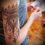Фото браслет хной - 19072017 - пример - 001 Bracelet with henna