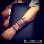 Фото браслет хной - 19072017 - пример - 005 Bracelet with henna