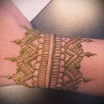 Фото браслет хной - 19072017 - пример - 008 Bracelet with henna