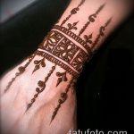 Фото браслет хной - 19072017 - пример - 012 Bracelet with henna