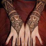 Фото браслет хной - 19072017 - пример - 014 Bracelet with henna