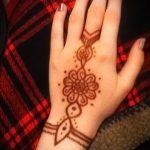 Фото браслет хной - 19072017 - пример - 015 Bracelet with henna