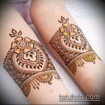 Фото браслет хной - 19072017 - пример - 021 Bracelet with henna