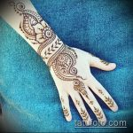 Фото браслет хной - 19072017 - пример - 030 Bracelet with henna