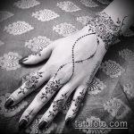 Фото браслет хной - 19072017 - пример - 033 Bracelet with henna