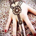 Фото браслет хной - 19072017 - пример - 035 Bracelet with henna