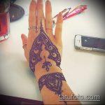 Фото браслет хной - 19072017 - пример - 037 Bracelet with henna