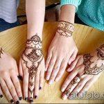 Фото браслет хной - 19072017 - пример - 039 Bracelet with henna