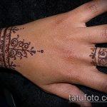 Фото браслет хной - 19072017 - пример - 042 Bracelet with henna