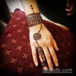 Фото браслет хной - 19072017 - пример - 043 Bracelet with henna