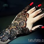 Фото браслет хной - 19072017 - пример - 047 Bracelet with henna