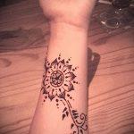 Фото браслет хной - 19072017 - пример - 049 Bracelet with henna