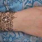 Фото браслет хной - 19072017 - пример - 050 Bracelet with henna