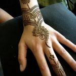 Фото браслет хной - 19072017 - пример - 051 Bracelet with henna