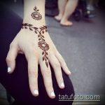 Фото браслет хной - 19072017 - пример - 056 Bracelet with henna