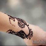 Фото браслет хной - 19072017 - пример - 058 Bracelet with henna