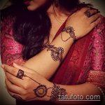 Фото браслет хной - 19072017 - пример - 059 Bracelet with henna