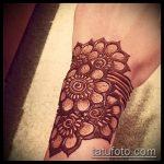 Фото браслет хной - 19072017 - пример - 060 Bracelet with henna