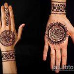 Фото браслет хной - 19072017 - пример - 062 Bracelet with henna