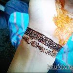 Фото браслет хной - 19072017 - пример - 067 Bracelet with henna