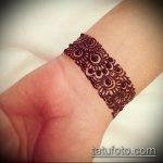 Фото браслет хной - 19072017 - пример - 075 Bracelet with henna