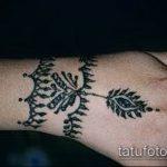 Фото браслет хной - 19072017 - пример - 078 Bracelet with henna