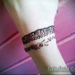 Фото браслет хной - 19072017 - пример - 079 Bracelet with henna