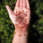 Фото браслет хной - 19072017 - пример - 081 Bracelet with henna