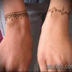 Фото браслет хной - 19072017 - пример - 086 Bracelet with henna